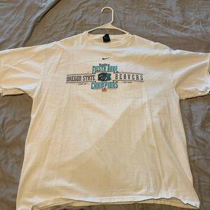 Nike Oregon State Beavers 2001 Fiesta Bowl T Shirt